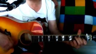 Es wird Nacht Senorita (Le Rossignol Anglais) Udo Jürgens Cover Epiphone Dove Pro VB