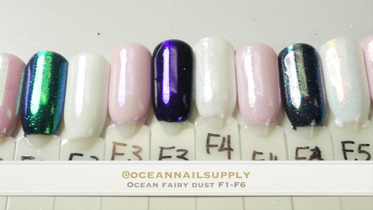 samples of Ocean Fairy Dust F1-F6 - YouTube