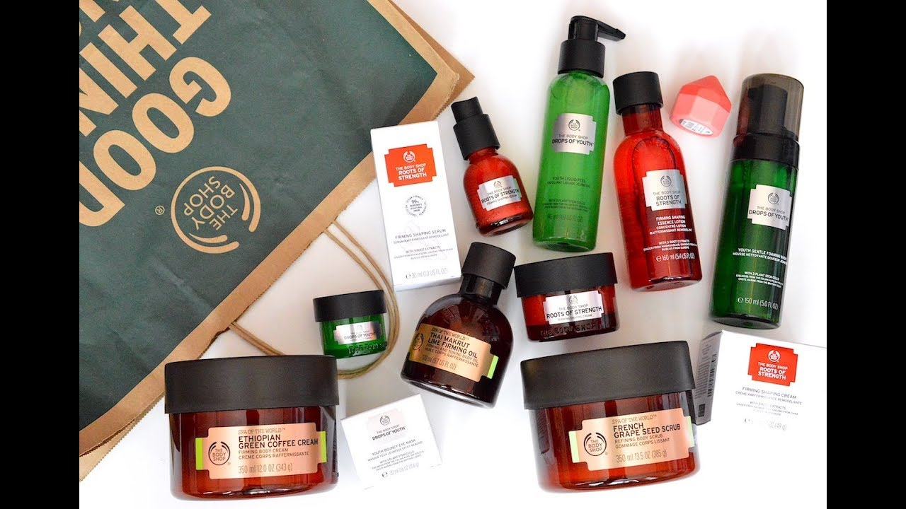 2b05b17a09 NEW Summer 2018 Body Shop Products