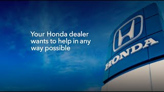 homepage tile video photo for Honda is Here to Help