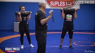 Bulgarian Bag Reaction Training
