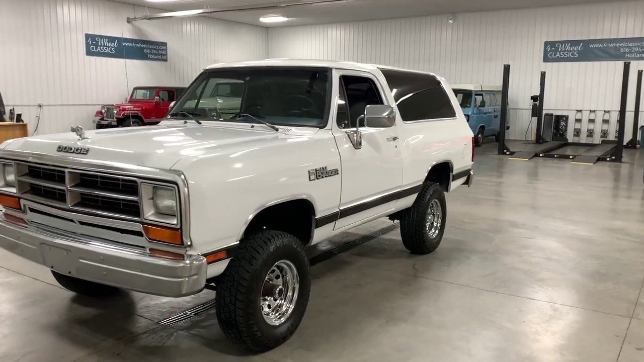 1989 Dodge Ram >> 1989 Dodge Ram Charger For Sale 2278489
