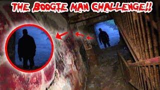 THE BOOGIE MAN CHALLENGE IN THE ABANDONED BOOGIE MAN MENTAL ASYLUM | MOE SARGI