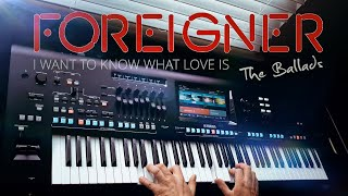 I Want To Know What Love Is - Foreigner (TRANCE) Yamaha Genos