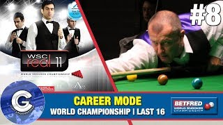 Let's Play WSC Real 11 (PS3) | World Snooker 2011 Career Mode #8: THE WORLDS!