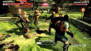 Ryse Gladiator Mode Gameplay Trailer - Ryse: Son of Rome - Xbox One Gamescom