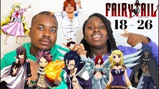 Japanese Anime Music Reaction | Fairy Tail Openings 18 -26  Reaction |