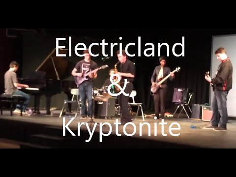 San Marin Rock Band: Electricland and Kryptonite Amp Nation Cover