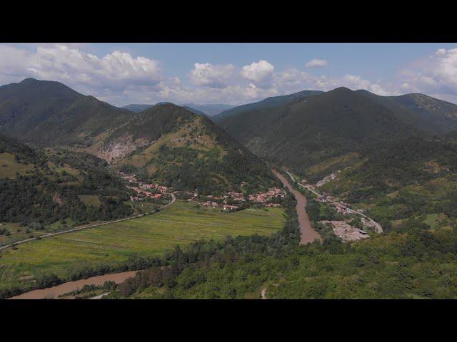 Valea Arieșului la Buru. August