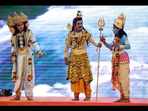 Pavitra Jal - Drama by the bal vikas children from Karnataka (Parthi Yatra) - 03 Oct 2015