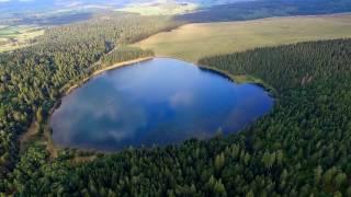 Auvergne Lac de Servières Drone Phantom 3 Laurent Courier