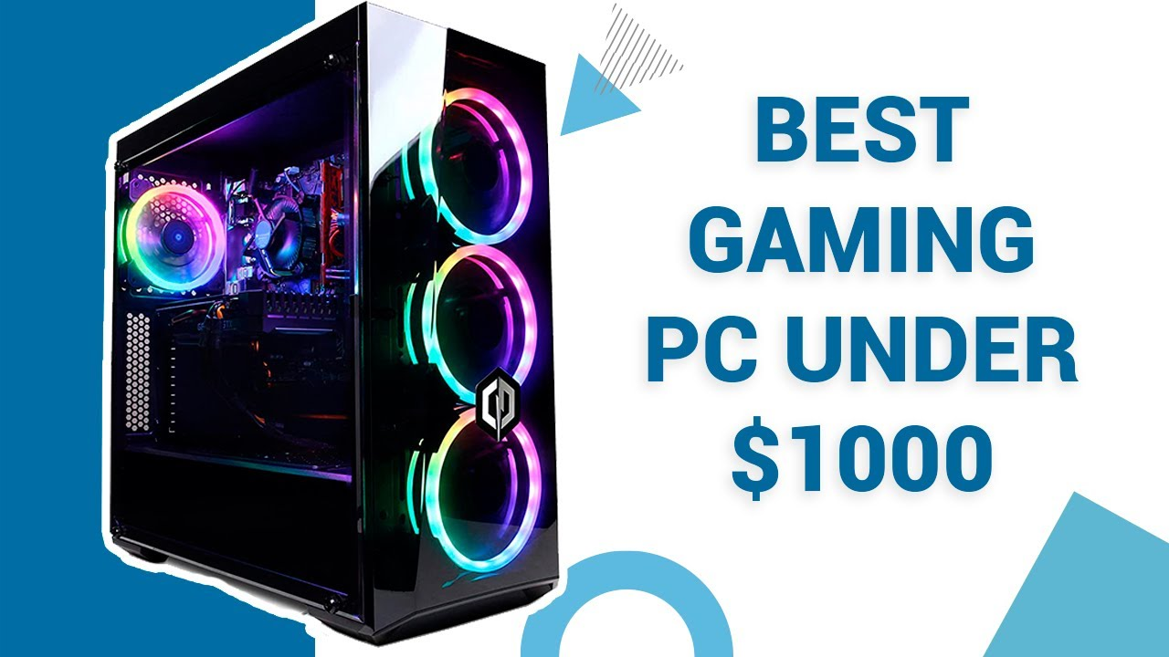 5 Most Powerful Pre-built Gaming PC Under $1000 on Amazon - YouTube