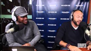Stephen Bishop Freestyles Live on Sway in the Morning!