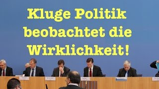 Kluge Politik beobachtet die Wirklichkeit - BPK vom 26. Oktober 2015