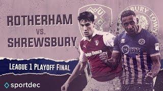 Rotherham v Shrewsbury - League One Play-Off Final - FIFA 18 Highlights