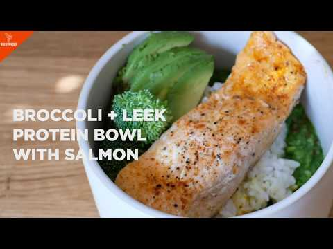 broccoli-+-leek-protein-bowl-with-salmon