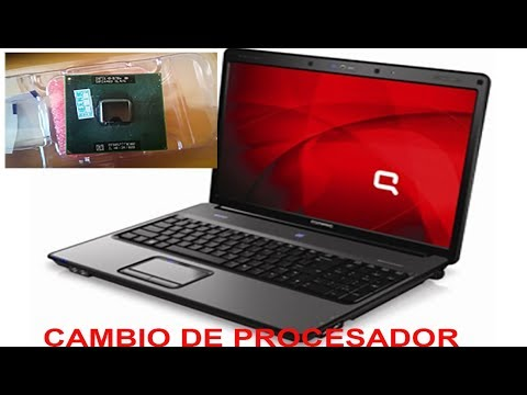 Cambio de procesador Compaq Presario A900