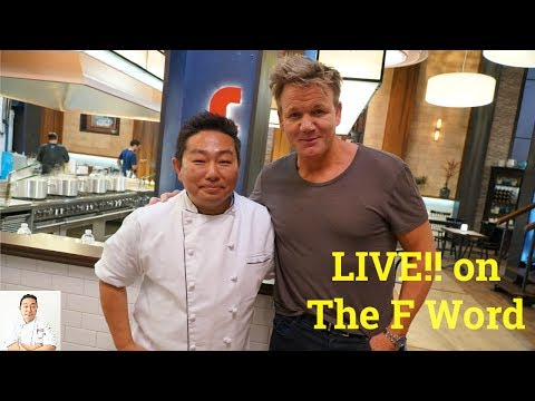 """LIVE with Gordon Ramsay! The """"F"""" Word on FOX"""