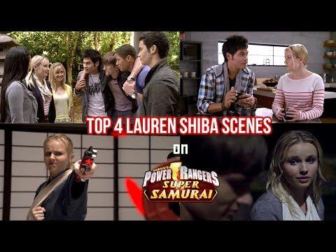 Download Top 4 Lauren Shiba Scenes on Power Rangers Super Samurai | Happy Lauren Shiba Day!