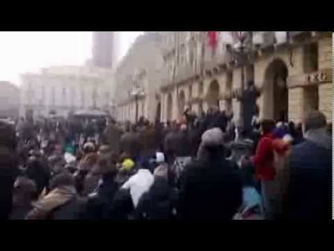 Torino scontri 9 Dicembre la Verità. Video Originale