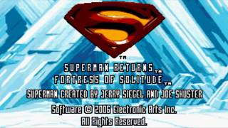 Superman Returns: Fortress of Solitude (GBA) w/ TheBaconThief