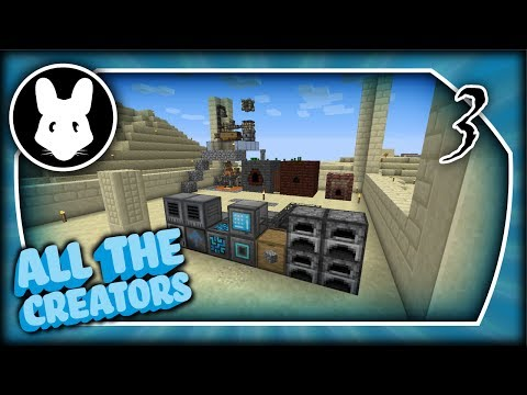 All the Creators! #3 Let's Play Minecraft 1.12