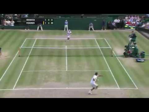 Roger Federer Vs Andy Roddick Wimbledon 2009 Highlights