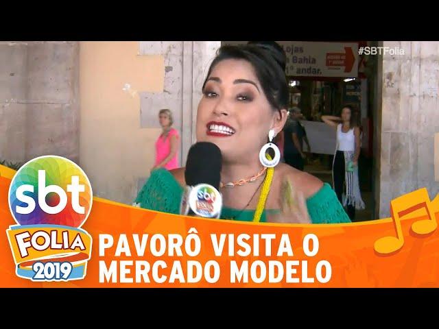Milene Pavorô visita o Mercado Modelo | SBT Folia 2019