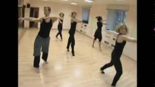 Modern ballet (разминка, Александр Могилев и команда)