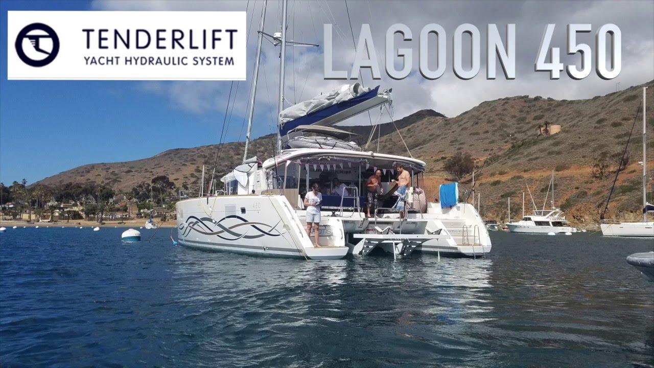 TENDERLIFT LAGOON 450 - Naos Yachts Inc.