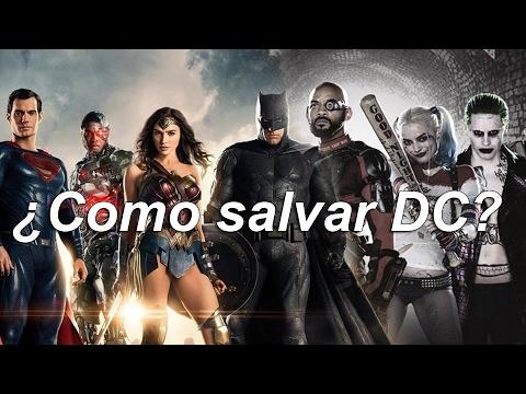 ¿Cómo salvar el DC Extended Universe?