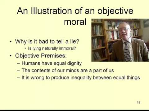 Professional ethics 06: The natural morality of lying