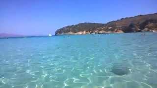 Пляж Вулизма на заливе Мирабелло, Крит, август 2015(Один из моих любимых пляжей - Вулизма в префектуре Лассити, в 13 км от Аг. Николаос. Недвижимость на Крите..., 2015-08-30T16:23:05.000Z)