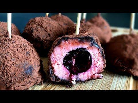 chocolate-cherry-truffles
