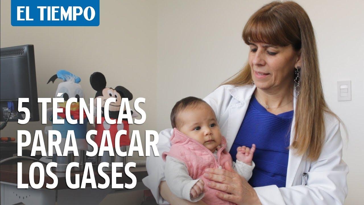 5 técnicas para sacarle los gases a tu bebé   EL TIEMPO ...