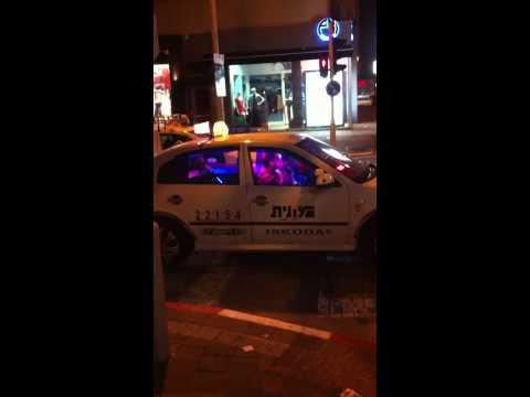 Disco Karaoke Taxi - Tel Aviv, Israel 2012