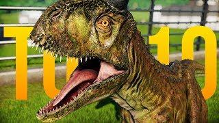 The Top 10 BEST DINOSAURS In Jurassic World: Evolution