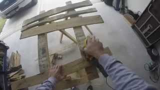 The Making   Kasa Pallet Wood Wine Racks