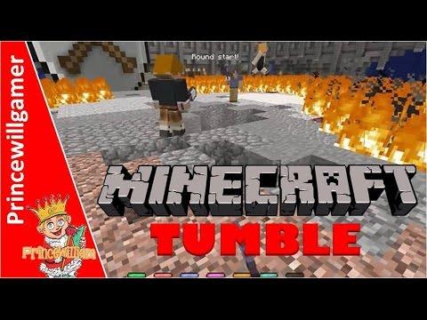 Minecraft Tumble Mini Game Xbox One Gameplay Spleef - Shovel Snowball Princewillgamer