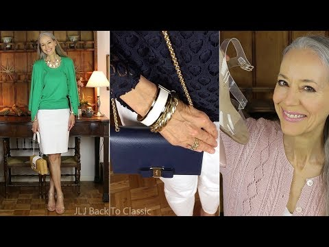 Favorites, March: Tops, Shoes, Bags, Bracelets, Lipstick, DVD / Classic Fashion Over 40
