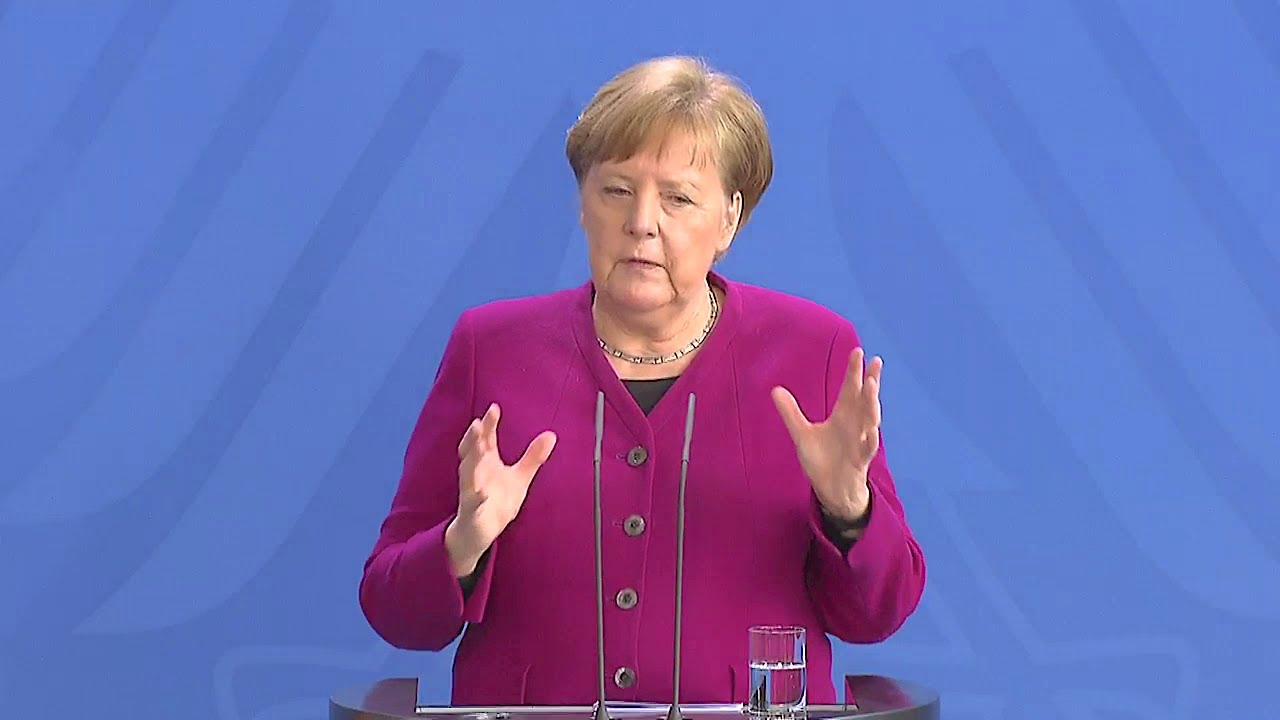 Merkel Ostern