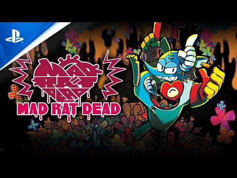 Mad Rat Dead - Announcement Trailer   PS4