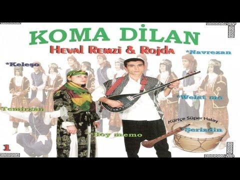 Rojda - Heval Remzi - Koma Dilan / Kürtçe Halay, Düğün, Delilo, Gowend 23 Dakika Yeni