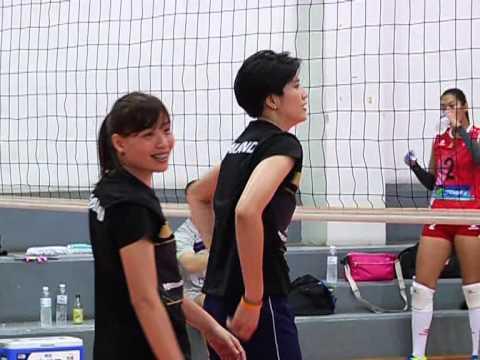 2558-05-04 อุ่นเครื่องวอลเลย์บอลหญิงทีมชาติไทย พบ ทีมชาติเปรู