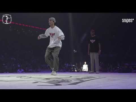 House Dance quarter final - Juste Debout 2019 - Caleaf & Tony ray vs Monsta Kai & Man Of God