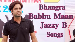 Babbu maan & Jazzy b - Rocking Bhangra at LLRIET-Aghaaz-2012