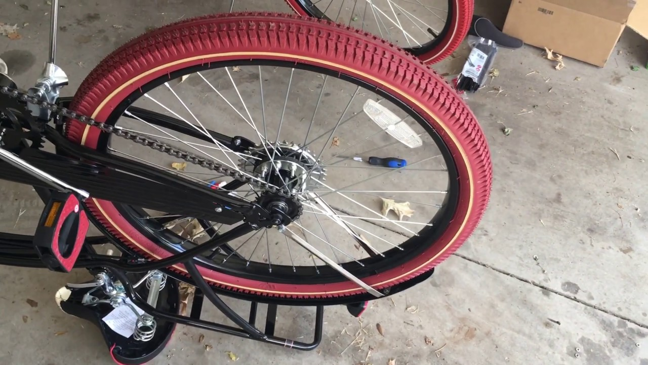 Motorized bicycle rear gear how to! (EASY WAY)!