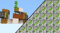 Die ULTIMATIVE Minecraft Farm! - Minecraft Redstone Tutorial für Bambus, Zuckerrohr & Kaktus