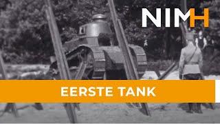 Eerste tank