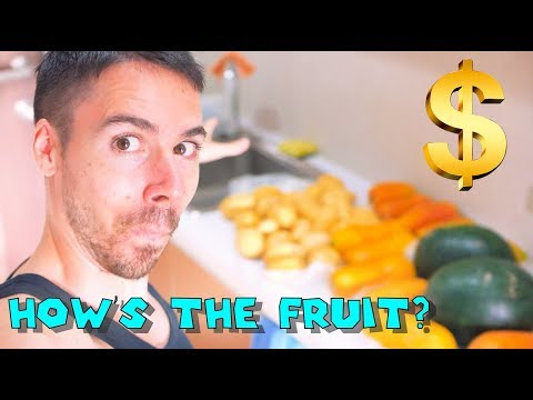 Is a Fruit Based Diet Affordable In Chiang Mai? Raw Vegan Possible?